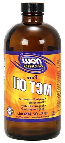 MCT Oil - Pure 16 fl. oz. Now Foods 16 fl oz Liquid