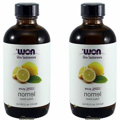 NOW Solutions Lemon Essential Oil, 4-Ounce