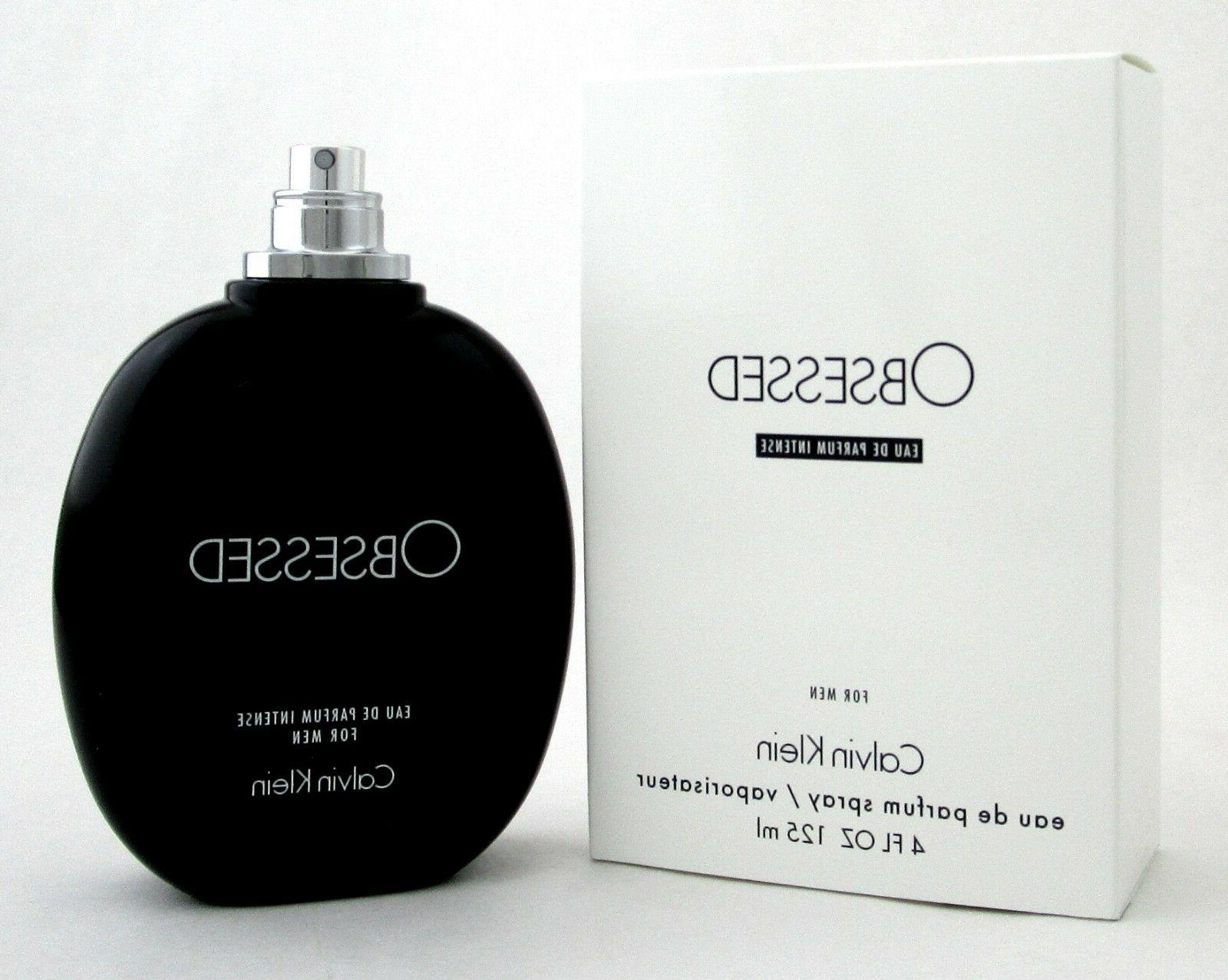 Obsessed Intense by Calvin Klein Ck EDP Cologne for Men 4.0