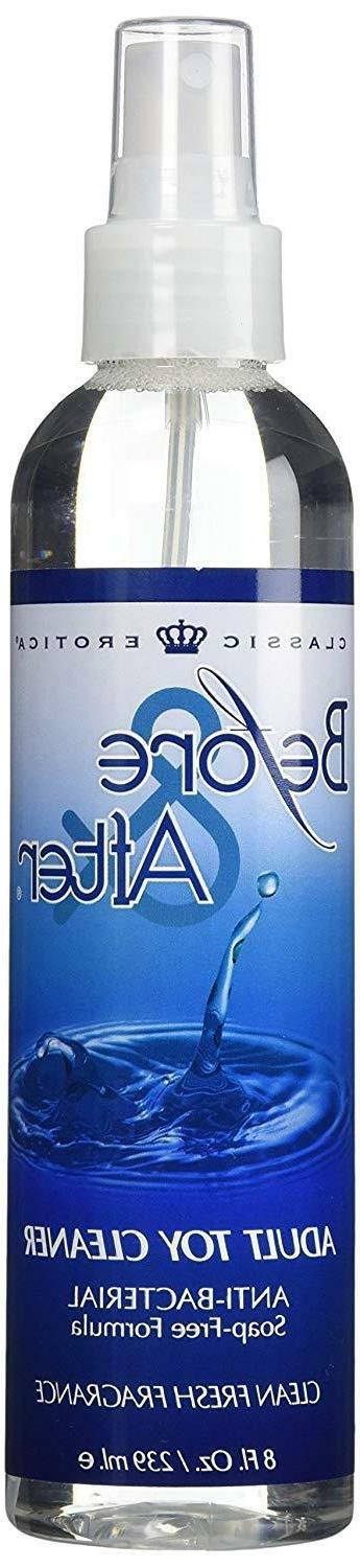 Classic Erotica Before & After Adult Toy Cleaner 4 fl.oz. So