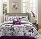 Adult Comforter Sets Queen Size Bedding Bed in a Bag 9 Pc Sh