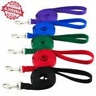 """Dog Leash Pet Training Made in USA 1"""" x 4 ft to 50 ft Colors"""