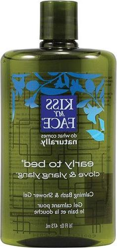 Kiss My Face Early To Bed Relaxation Shower Gel & Foaming Ba