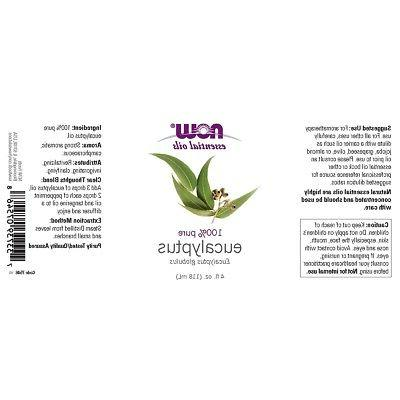 NOW Eucalyptus Oil, MADE IN