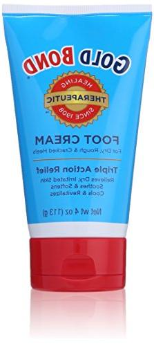 Gold Bond Foot Cream 4 oz Cream