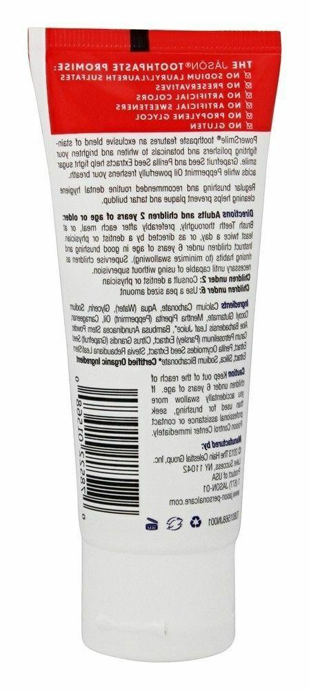 Jason POWERSMILE Fluoride-Free oz