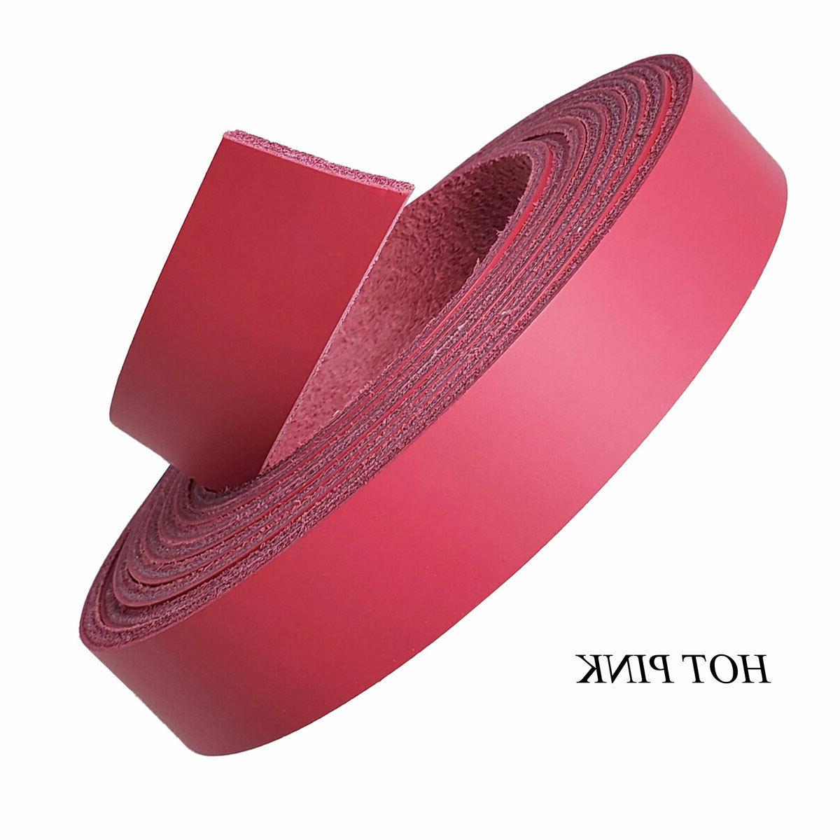 Leather Strips 3/4 -7 oz-Use Collars, Purse