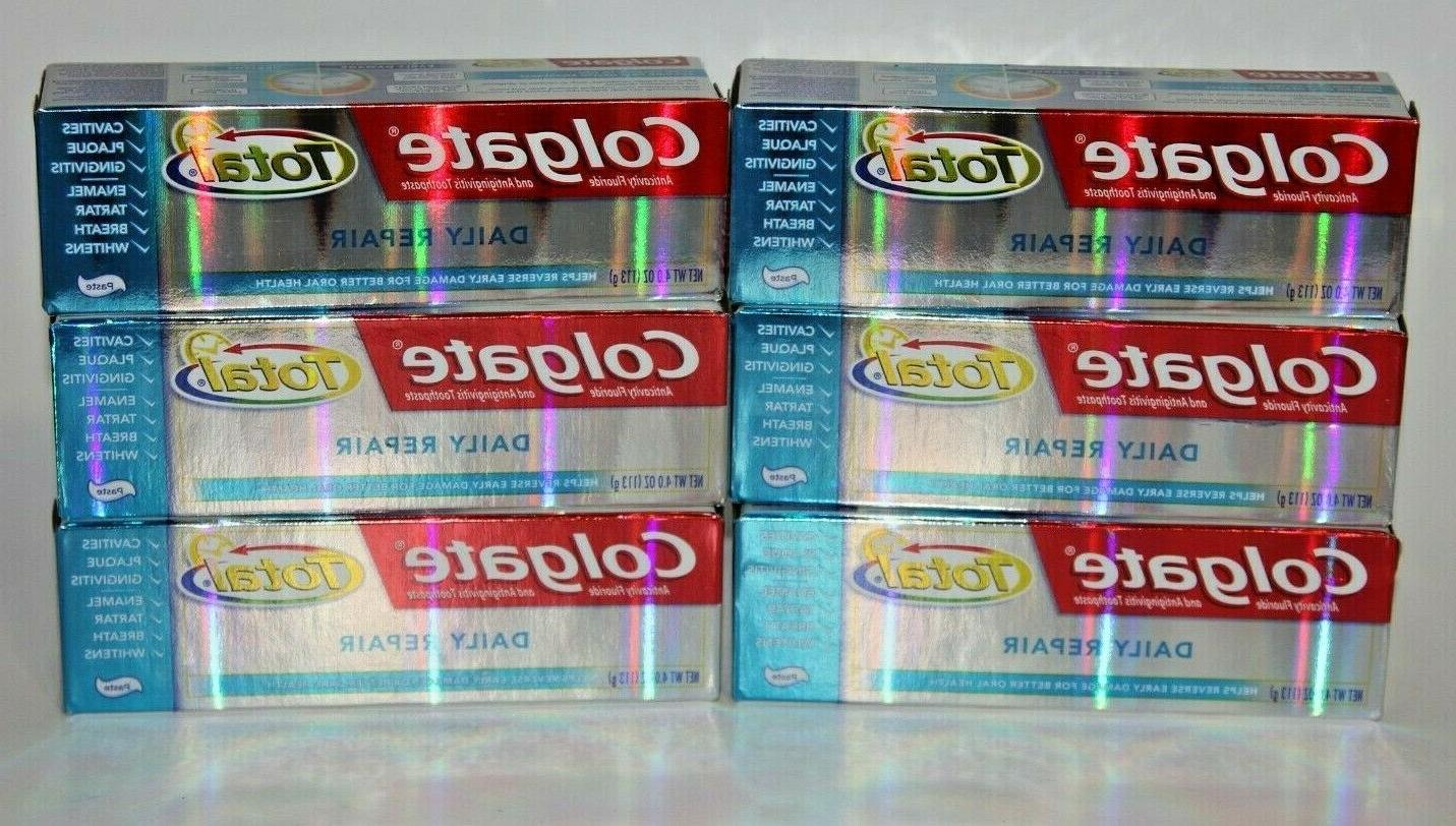 lot 6 total daily repair toothpaste 4