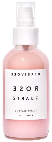 natural rose quartz illuminating body oil 4