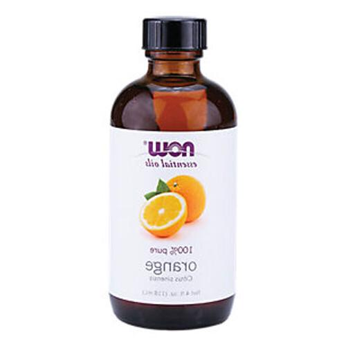 NOW Solutions Orange Essential Oil, 4-Ounce