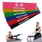 Set of 6 Resistance Bands Loop Exercise Workout CrossFit Fit