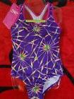 SPEEDO Swimsuit Girls Children Size 5 to 14 Purple Pink Rain