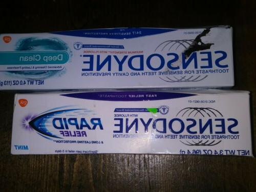 toothpaste for sensitive teeth deep clean 4