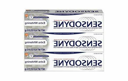 toothpaste for sensitivity extra whitening for sensitive