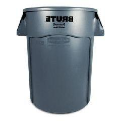 Trash Can,44-Gal Brute Gray