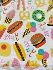 Bedtime Twin Fast Food 3 pc Sheet Set Kids New Pizza Bacon I
