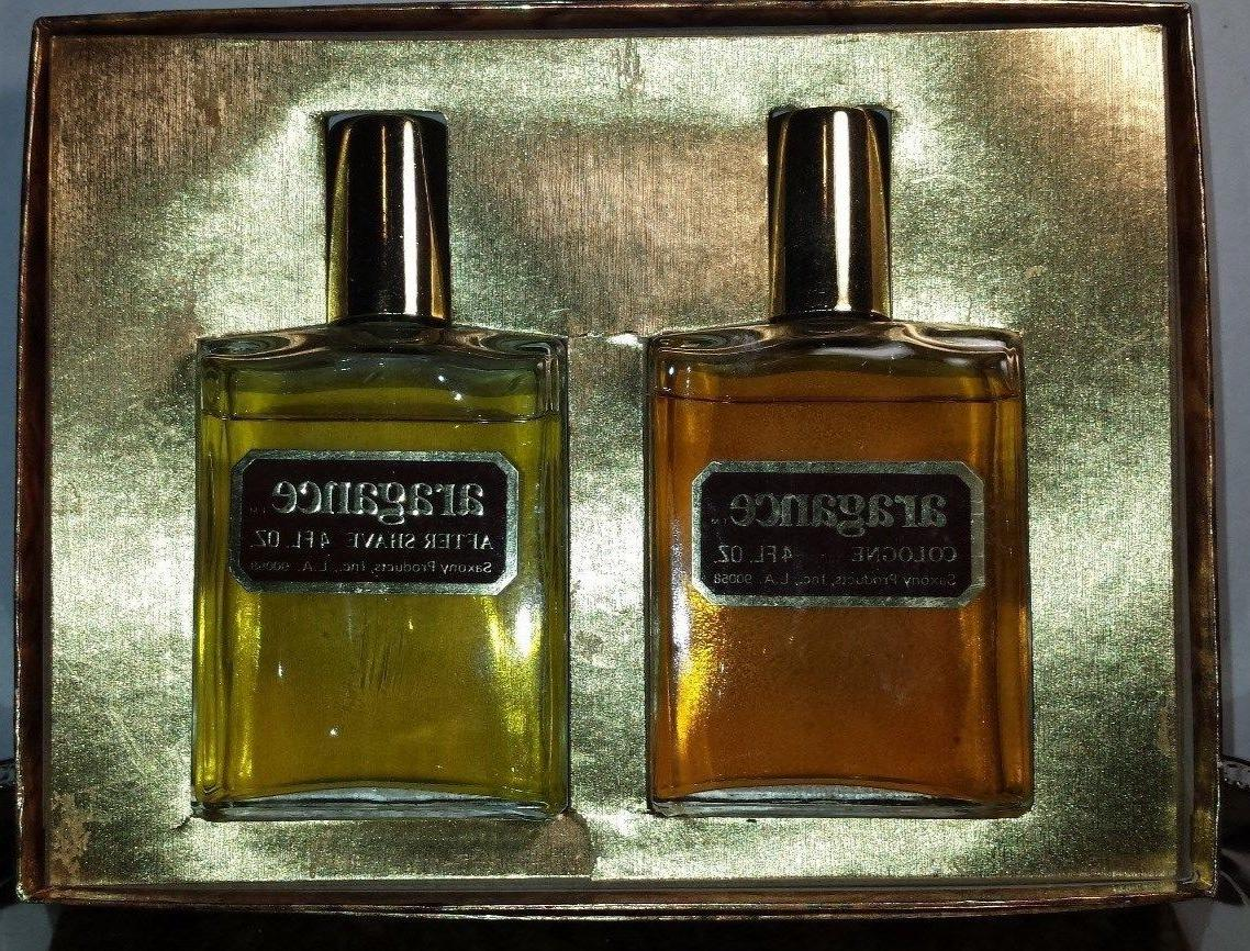 Vintage ARAGANCE..Men's After Shave & Cologne..4 oz. ea..198