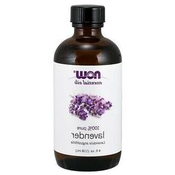 NOW Foods Lavender Oil, 4 oz. FREE SHIPPING. MADE IN USA. FR
