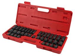 Performance Tool M796 38-Piece Impact Socket Set
