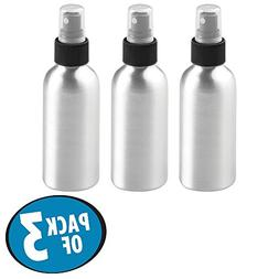 mDesign Aluminum Rustproof Spray Bottles - Mister, Essential
