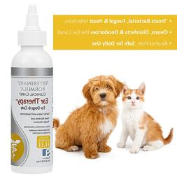 Medicated Ear Therapy Treatment for Dog Cat anti-bacterial a