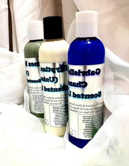 Men Scented Lotions - 4 OZ OR 8 OZ - CHOOSE SCENT & SIZE
