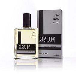 Musk Cologne Spray  - The Male Scent - Tru Fragrance