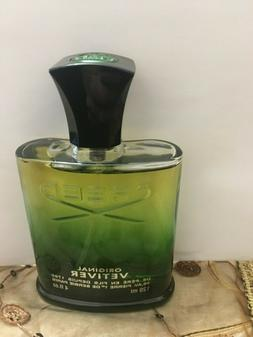 Creed Original Vetiver 4oz Men's Eau de Cologne spray  see d