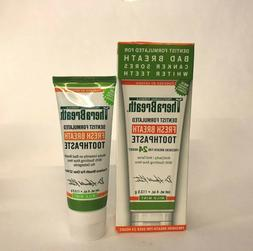 Therabreath Oxygenating Fresh Breath Toothpaste Mild Mint, 4