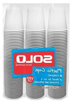 Solo 3-Ounce Plastic Bathroom Cups, 150-Count Package