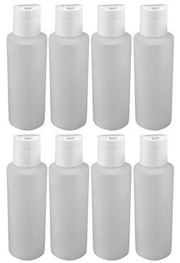 Pinnacle Mercantile 4 Oz Plastic Squeeze Bottles with Disc T