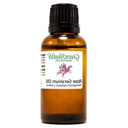 Rose Geranium 1oz Essential Oil  - GreenHealth