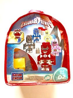 Saban's Power Rangers Mega Bloks 50 Pieces Building Blocks S
