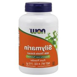 NOW Foods Silymarin MILK THISTLE EXTRACT Pure Powder 350mg -