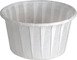 Solo 4.0 oz Treated Paper Souffle Portion Cups for Measuring