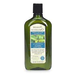 Avalon Organics Strengthening Shampoo - Pepppermint - 11 oz