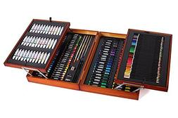 Mont Marte 174-Piece Deluxe Art Set, Art Supplies for Painti