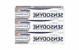 Sensodyne Toothpaste for Sensitivity, Extra Whitening, 4 Oun