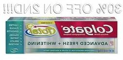 Colgate Total Advanced Fresh with Whitening Gel Toothpaste,