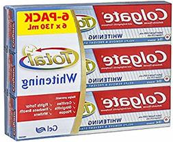 Colgate Total Whitening Toothpaste - 4. 4 Fl. Oz Ea. 6 Count