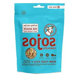Sojos Turkey Recipe Complete Adult Dog Food Trial Package, 4