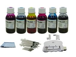 USB chip resetter and 6x4oz refill ink for Epson 69 77 78 79
