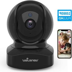 Wireless Security Indoor Camera, 1080P FULL HD Motion Detect